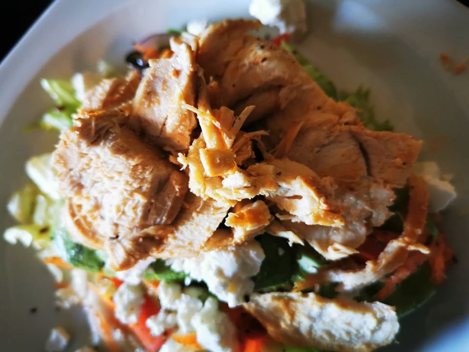 Chicken salad made at home