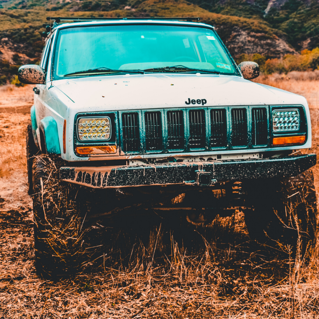 Jeep car outdoors
