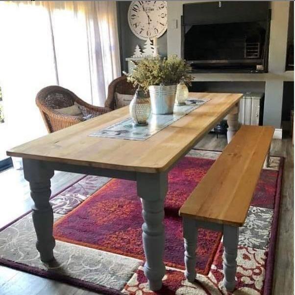 Custom Rustic Wooden table