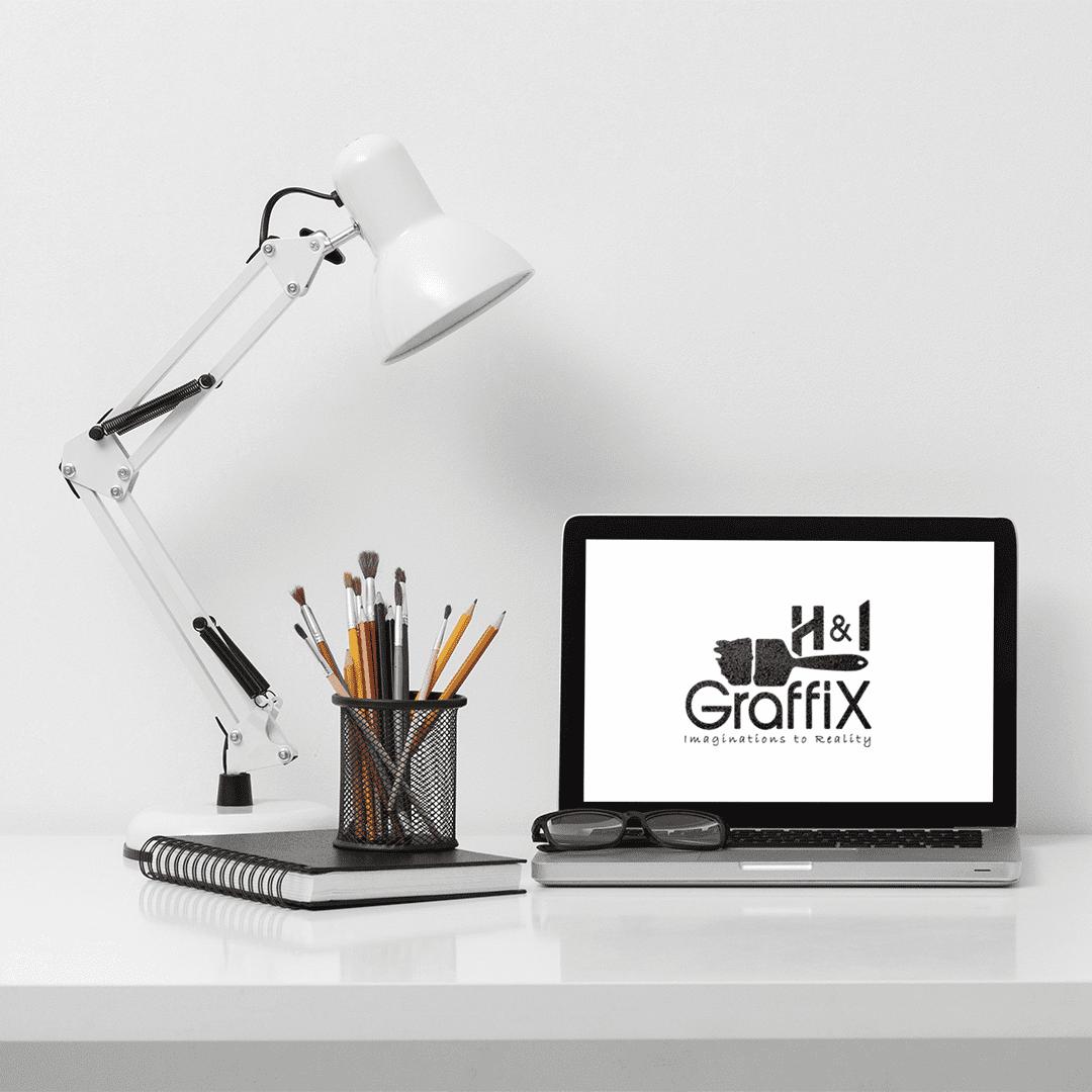 H&I GraffiX on laptop screen