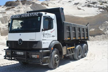 Somerset Sand and Stone truck