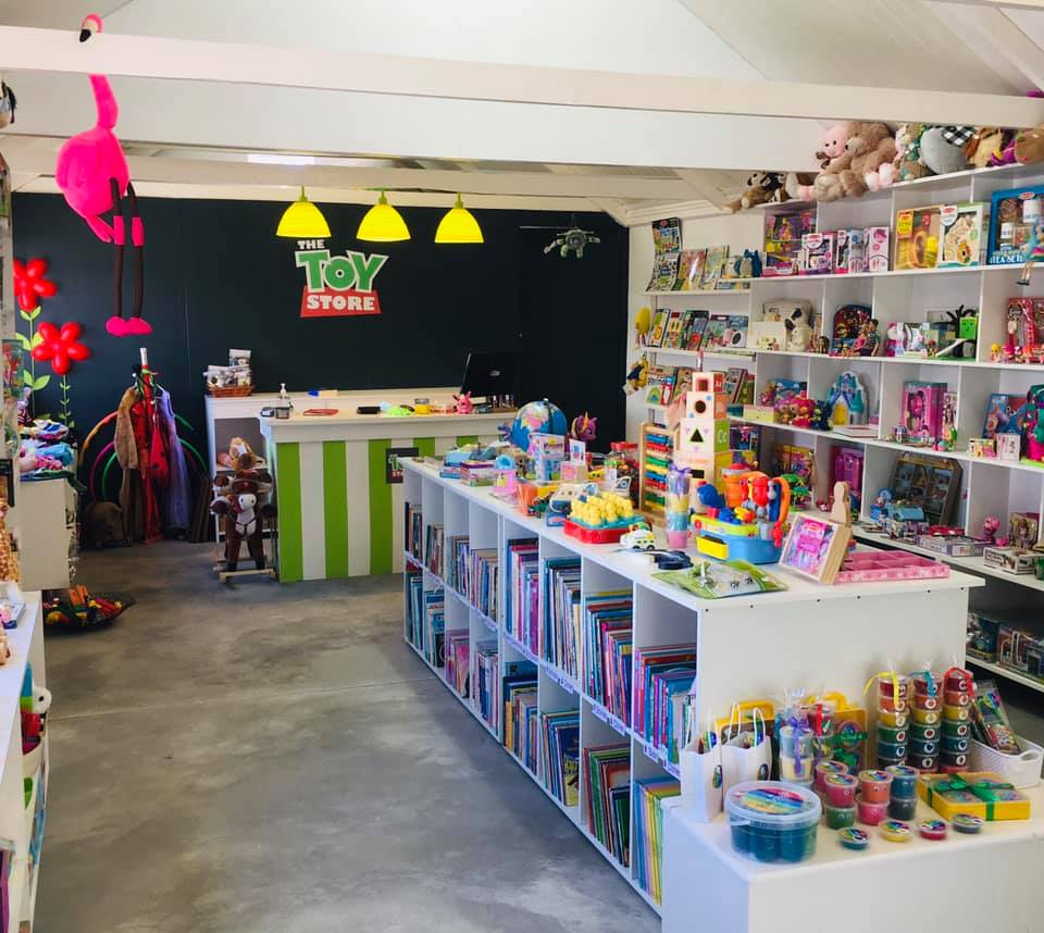 Interior of The Toy Store in Somerset West