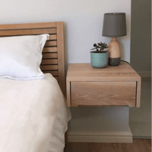 Bedside table made by Genesis Carpentry