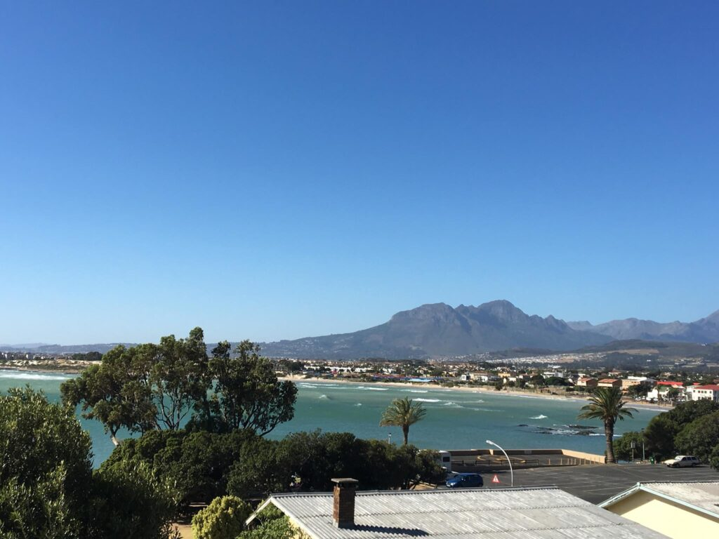 View of False Bay from On The Bay