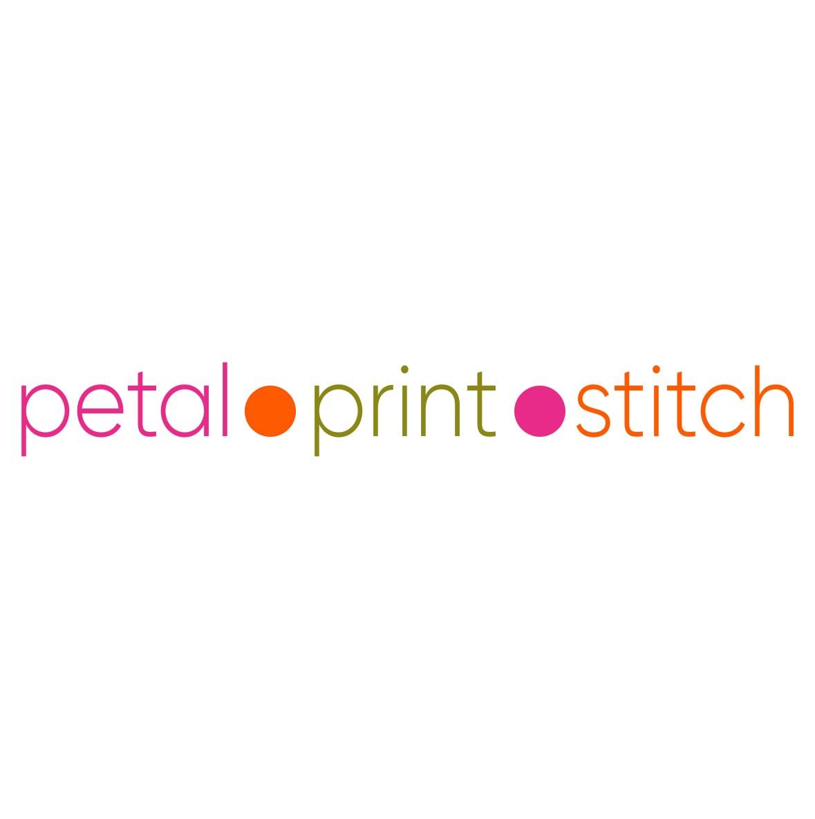 Petal Print Stitch logo