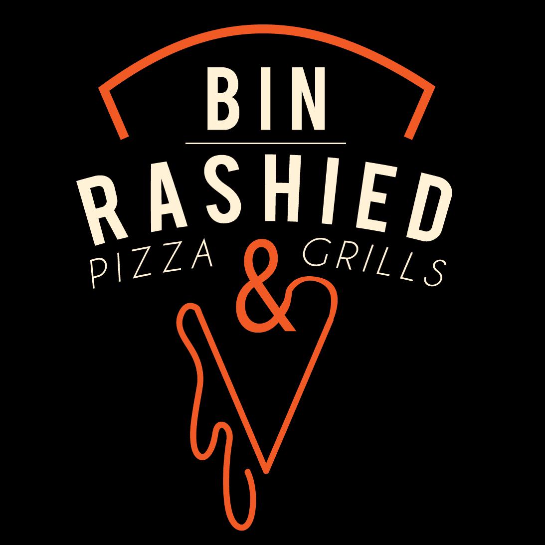 Bin Rashied Pizza and Grills logo