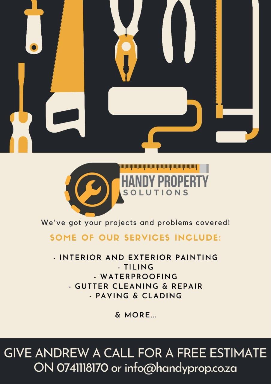 HandyProp Solutions poster
