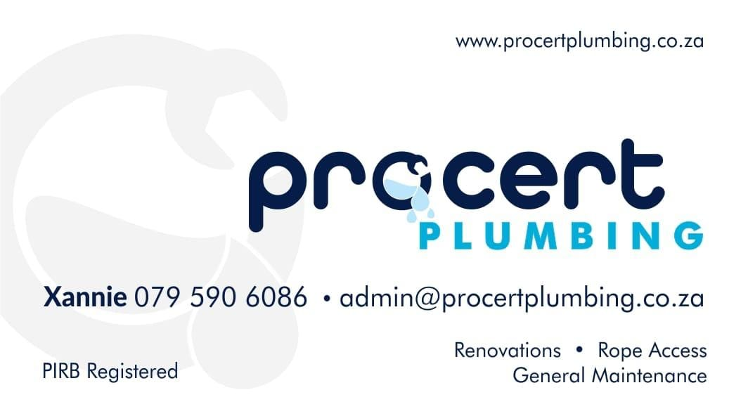 Procert Plumbing logo