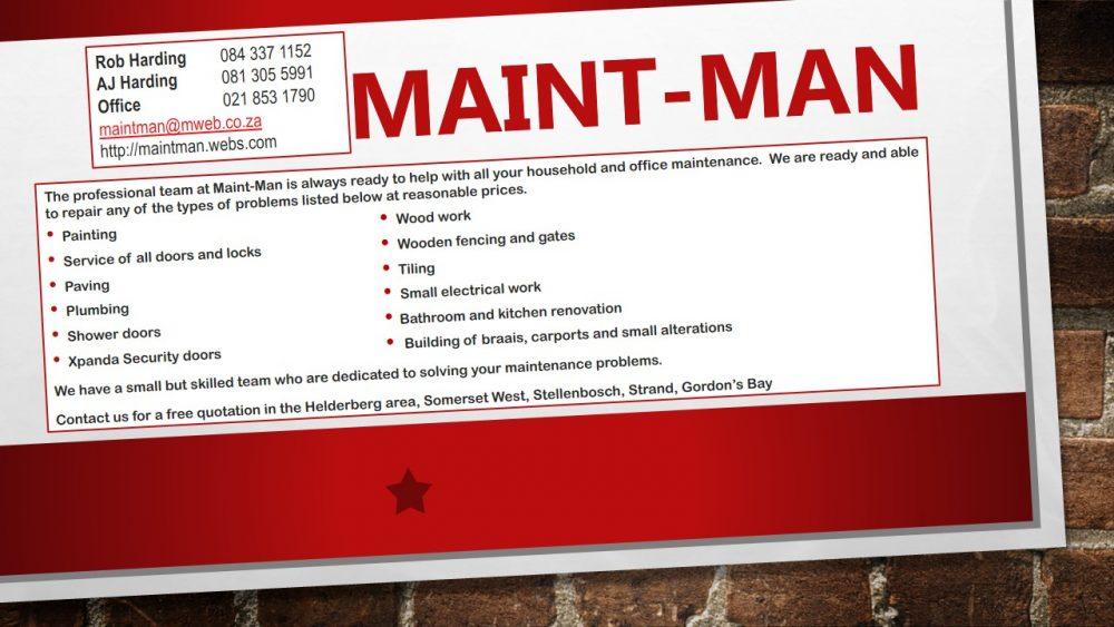 Maint-Man logo
