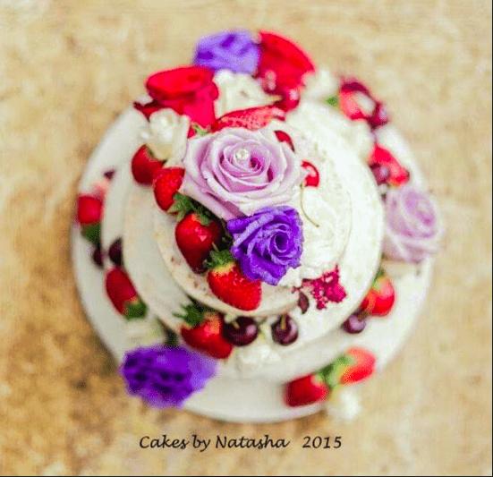 Wedding cake by Cakes by Natasha
