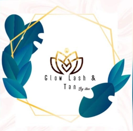 Glow Lash and Tan logo