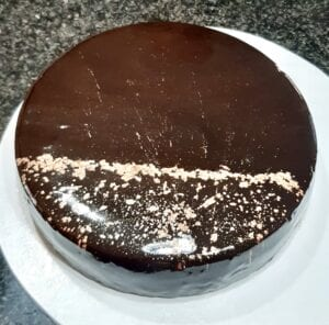 Chocolate mousse cake by Melua Mousses