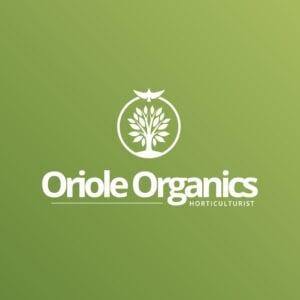 Oriole Organics Landscaping logo