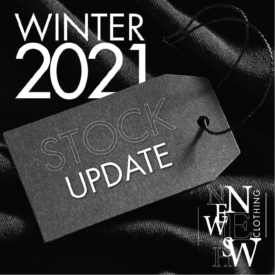Newish New Clothing winter stock update flyer