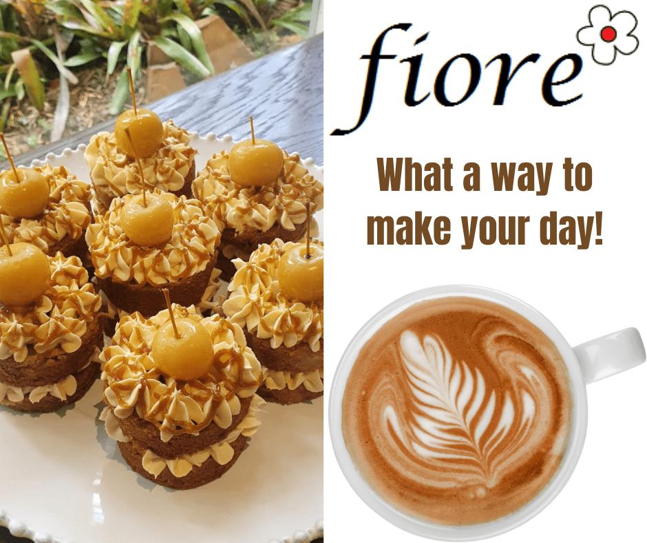 Treats and coffee at Fiore Garden Centre
