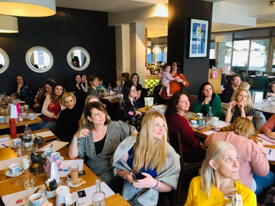 Women attending a Moms In Business International Winelands event
