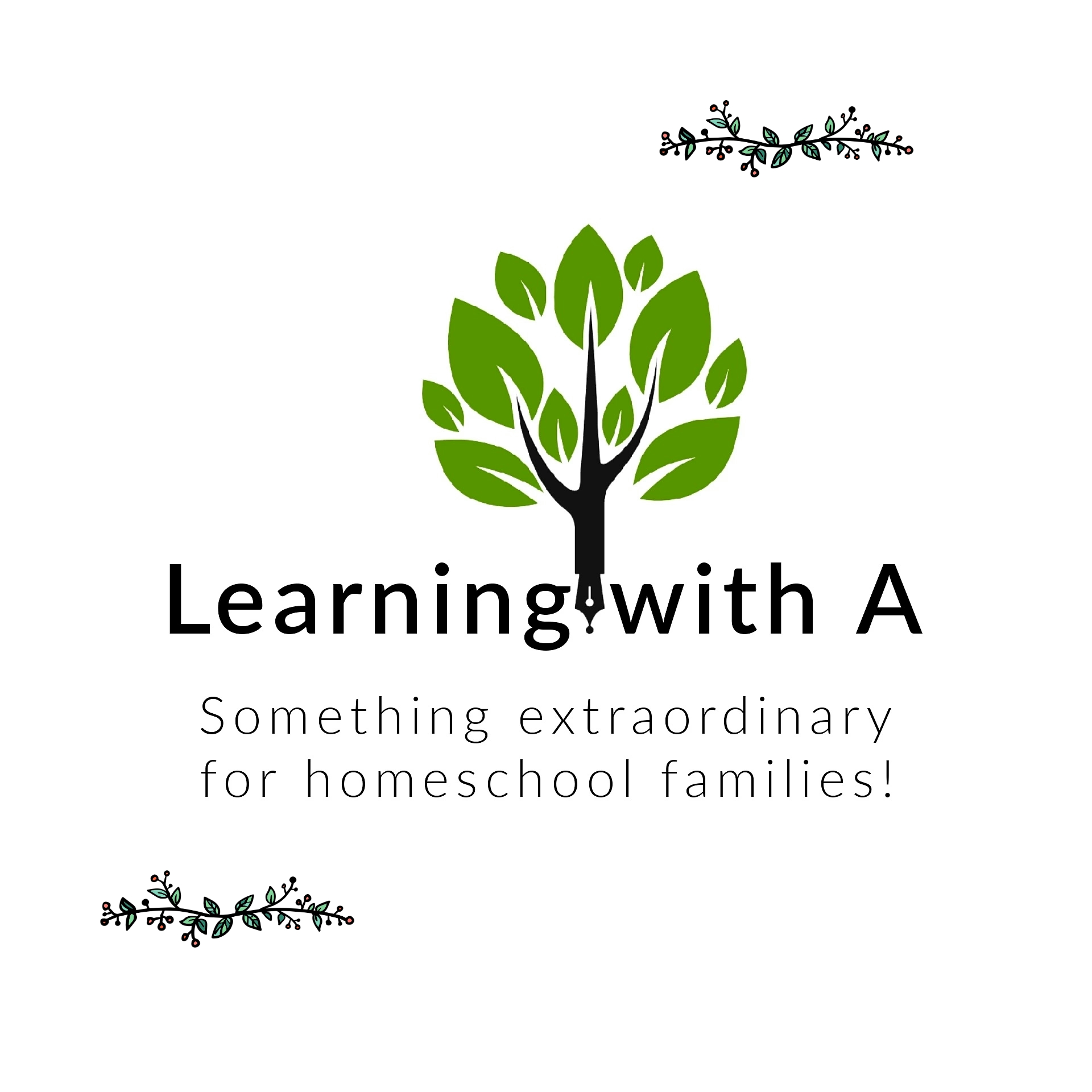 Learning with A logo