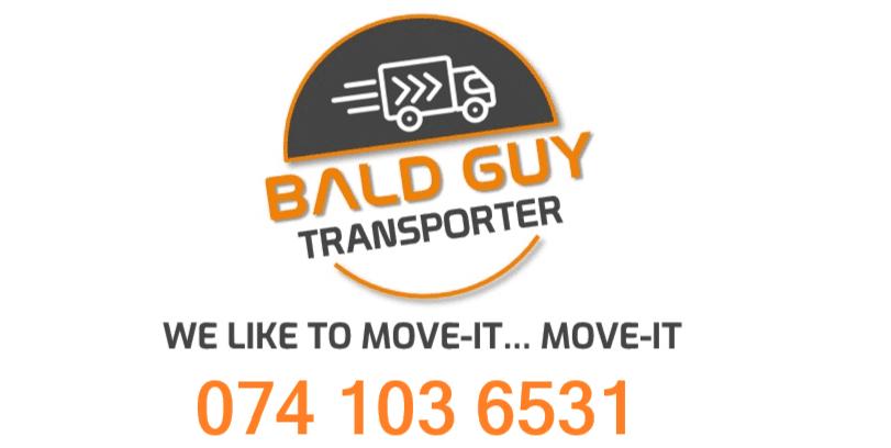 Bald Guy Transporter logo