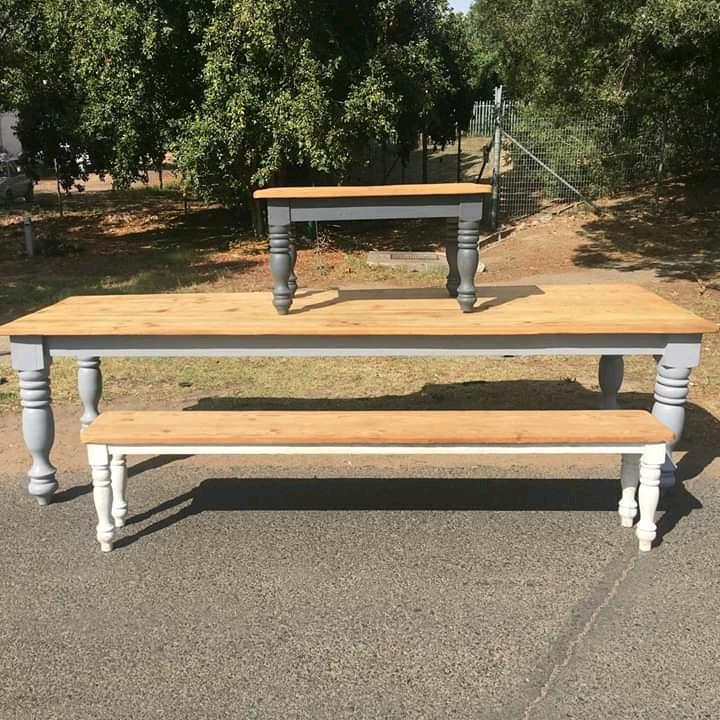Custom Rustic Wooden tables